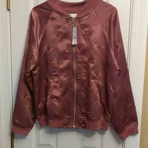 NWT PACSUN HONEY PUNCH JACKET IN WINE SIZE LARGE